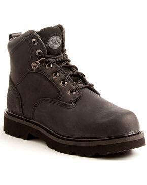 Dickies Men's Black Ranger Work Boots - Plain Toe, Black, hi-res