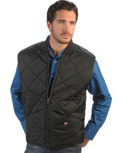 Dickies Diamond Quilted Nylon Work Vest, , hi-res