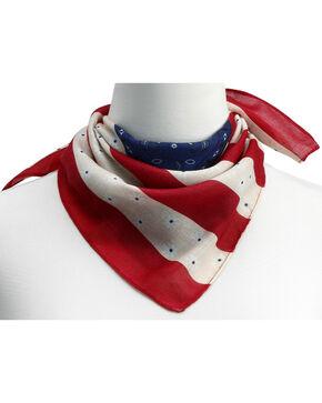 Big Sky Carvers American Flag Neckerchief, Multi, hi-res