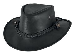 Bullhide Men's Cessnock Leather Hat, , hi-res
