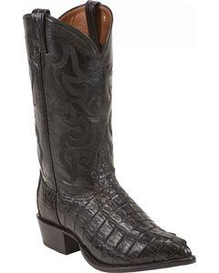Tony Lama Caiman Tail Cowboy Boots, , hi-res