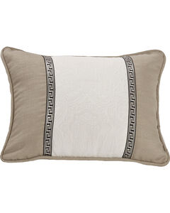 HiEnd Accents Augusta Matelasse Pillow, Khaki, hi-res