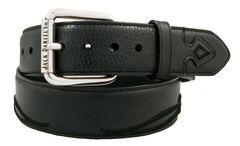 Jack Daniel's Filigree Embroidered Leather Belt, , hi-res