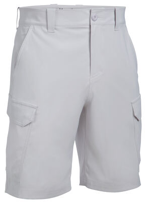Under Armour Men's Fish Hunter Cargo Shorts, Grey, hi-res