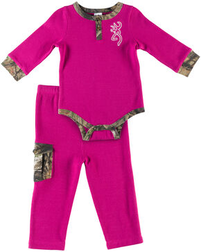 Browning Infant Girls' Fuchsia Gosling Set , Fuchsia, hi-res