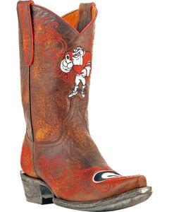 Gameday University of Georgia Cowgirl Boots - Snip Toe, , hi-res