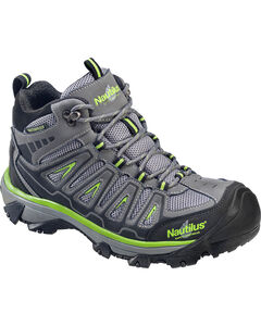 Nautilus Men's Lightweight Waterproof HIker Work Boots - Steel Toe , , hi-res