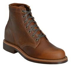 "Chippewa Service 6"" Lace-Up Boots - Round Toe, , hi-res"