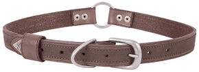 Browning Brown Large Leather Dog Collar , Brown, hi-res