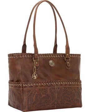 American West Harvest Moon Carry-On Tote Bag, Brown, hi-res