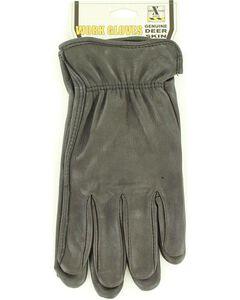 HD Xtreme Black Deerskin Gloves, , hi-res