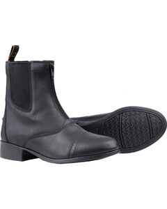 Dublin Kids' Elevation Zip Paddock Boots, , hi-res