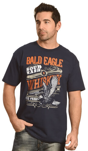 Cody James Bald Eagle T-Shirt, Navy, hi-res