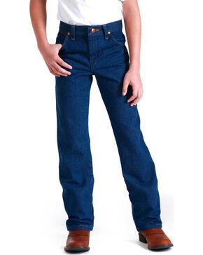 Wrangler Boys' Cowboy Cut ProRodeo Jeans, Blue, hi-res