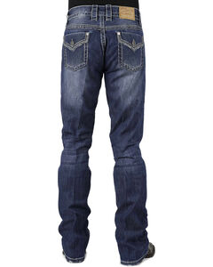 Stetson Rocker Fit Flap Pocket Jeans - Big and Tall, , hi-res
