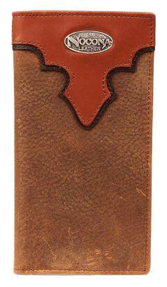 Nocona Copper Grizzly Rodeo Wallet, Copper, hi-res