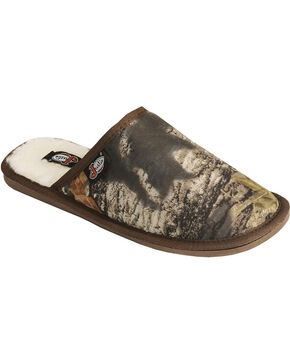 Justin Men's Camouflage Slide-On Slipper, Camouflage, hi-res
