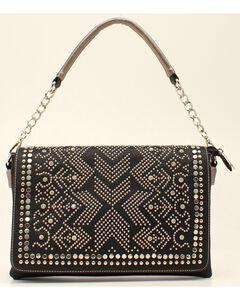 Blazin Roxx Women's Studded Rhinestone Shoulder Bag, , hi-res