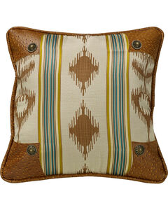 HiEnd Accents Alamosa Pillow with Conchos, , hi-res