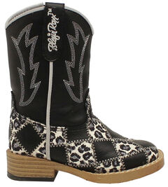 Blazin Roxx Toddler Girls' Miley Patchwork Boots - Square Toe, , hi-res