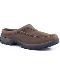 Roper Performance Lite Open Back Slip-On Casual Shoes, , hi-res