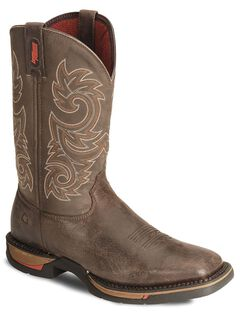 Rocky Men's Long Range Western Boots - Square Toe, , hi-res