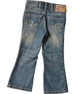 Silver Toddler Boys' Zane Bootcut Jeans - 2T-4T, , hi-res