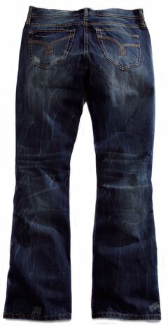 Tin Haul Men's Jagger Fit 2 Deco Stitch Bootcut Jeans, , hi-res