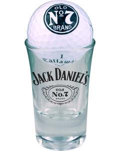 Jack Daniel's Set of 2 Callaway Warbird Golf Balls & Shot Glasses, , hi-res