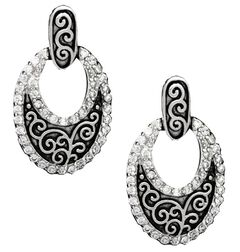 Montana Silversmiths Filigree Oval Earrings, , hi-res