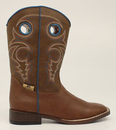 Double Barrel Boys' Dylan Cowboy Boots - Square Toe, , hi-res