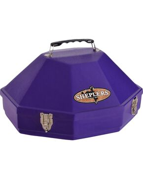 Single Hardshell Hat Carrying Case, Purple, hi-res