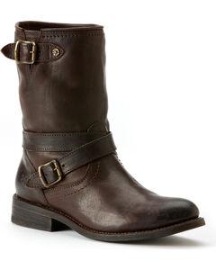 Frye Women's Jayden Cross Engineer Boots, , hi-res