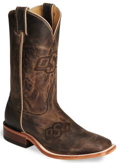 Nocona Oklahoma State College Boots - Square Toe, , hi-res