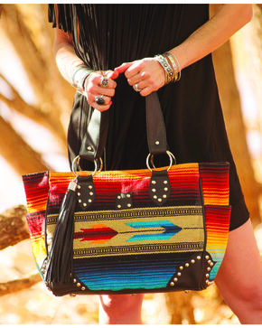 STS Ranchwear Sabrina Serape Shopper Handbag, Multi, hi-res