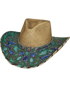 Bullhide Wind of Change Panama Straw Cowgirl Hat, , hi-res