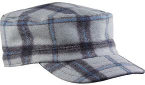 Stormy Kromer Men's Flat Top Cap, Lt Grey, hi-res