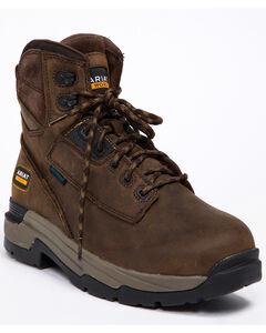 "Ariat Mastergrip 6"" H2O Work Boots - Soft Toe, , hi-res"