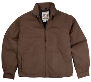 Schaefer Outfitters Fenceline Arena Jacket, Brown, hi-res
