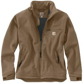 Carhartt Men's Crowley Jacket, Brown, hi-res