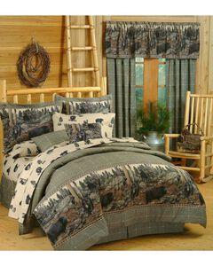Blue Ridge Trading Bears Queen Comforter Set, , hi-res