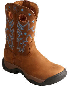 Twisted X Brown All Around Waterproof Cowgirl Boots - Round Toe, , hi-res