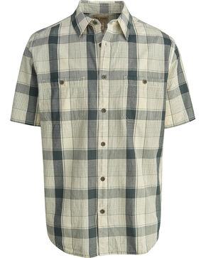 Woolrich Men's Tall Pine Ripstop Plaid Shirt , Grey, hi-res