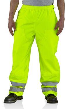Carhartt High-Visibility Class E Waterproof Pants - Big & Tall, , hi-res