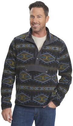 Woolrich Men's Trail Blazing Fleece Pullover, , hi-res