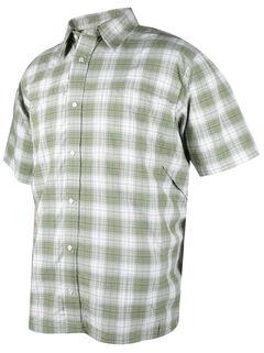 Tru-Spec Men's Green Plaid 24-7 Cool Camp Shirt , , hi-res