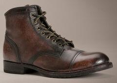 Frye Logan Cap Toe Lace Up Boots, , hi-res