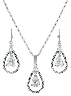 Montana Silversmiths Catch the Rain Jewelry Set , , hi-res