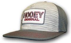 HOOey Men's Grey Original Logo Trucker Hat  , , hi-res