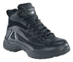 Reebok Women's Rapid Response Work Boots, Black, hi-res